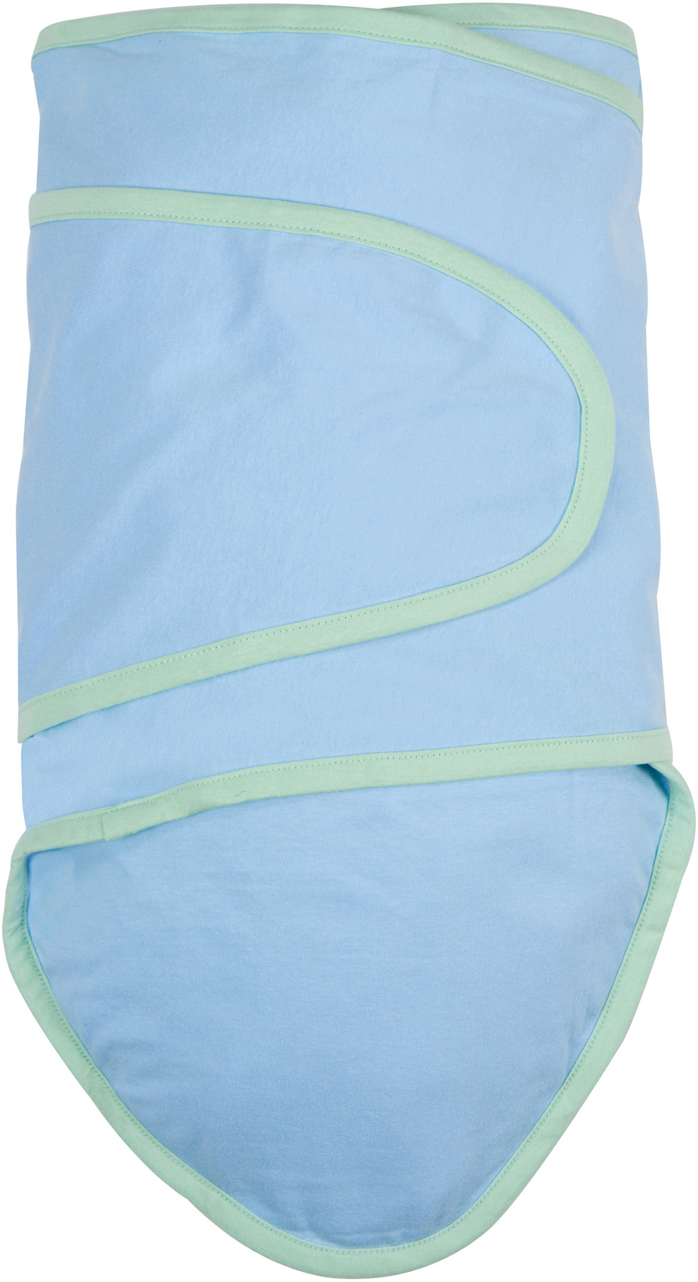 Miracle Blanket®: Blue With Green Trim