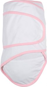 Miracle Blanket®: White With Pink Trim