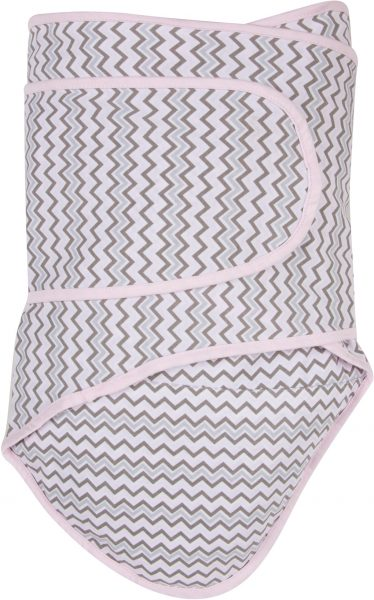 Miracle Blanket®: Chevrons with Pink Trim