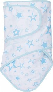 Miracle Blanket®: Blue Stars with Blue Trim