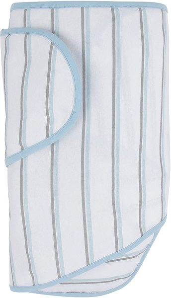 Miracle Blanket® with Blue and Grey Stripes