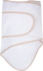 Miracle Blanket®: White with Beige Trim