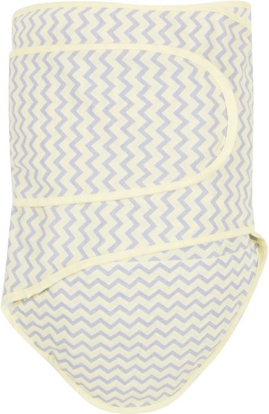 Miracle Blanket®: Chevrons with Yellow Trim
