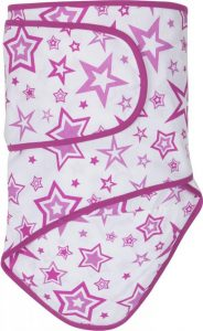 Miracle Blanket®: Radiant Orchid Stars with Radiant Orchid Trim